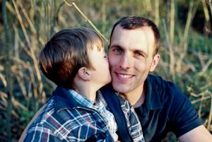 Tassilo Peters und Sohn